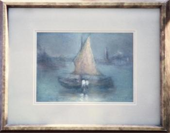 Pastel framed 12x15 circa 1932
