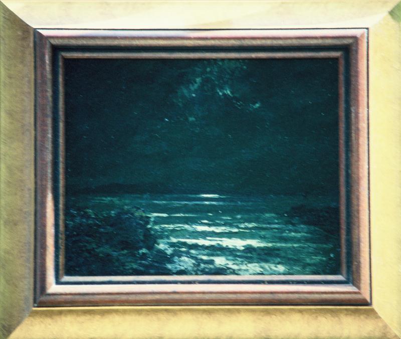 oil framed 11x13 circa 1932