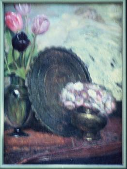 Oil framed 16x13 circa 1932