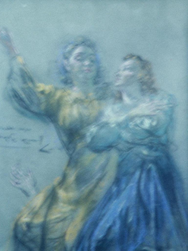 Pastel framed 10x13 1960