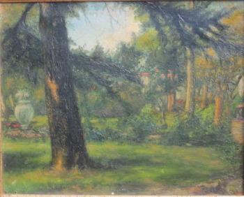 Oil framed 18x21