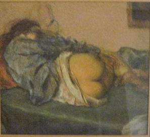 Pastel framed 18x18
