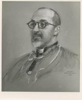 Portrait of the Armenian Cardinal in 1951