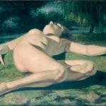 Oil framed 34x46 1935